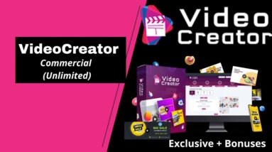 VideoCreator Commercial (Unlimited) \\ VideoCreator Discount Ends Soon