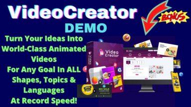 VideoCreator Demo Video