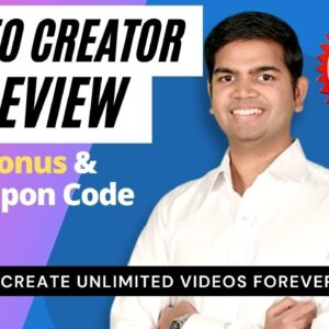 VideoCreator Review-  VideoCreator Demo  - $18 Coupon & $15k Premium Bonuses