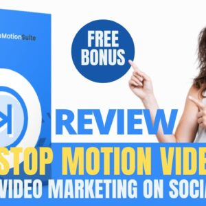 StopMotionSuite Review and Demo + Bonus:  Stop Motion Video App |  Video Marketing on Social Media