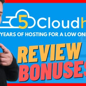 5cloudhost Review & Bonus 🔥  Best Web Hosting For Wordpress 🔥