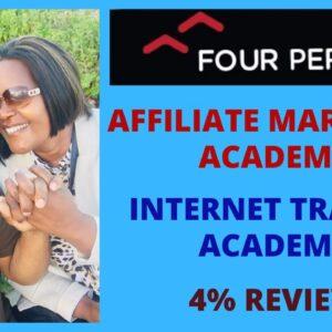 FourPercent | Affiliate Marketing Academy | Internet Traffic Academy | Vick Strizheus | 4% Review