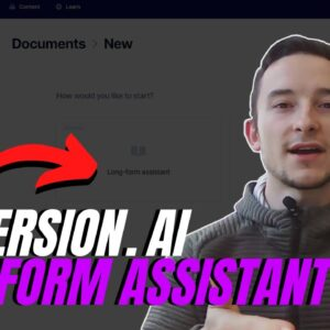 Conversion.ai Long Form Assistant Review (Pro Unlimited Plan)
