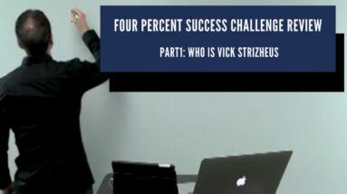 👀Four Percent Success Challenge Review 2020🔑Win The Game!🥇Part1: Who is Vick Strizheus