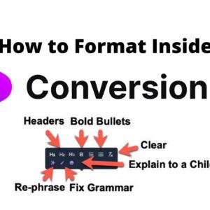 How to Format Conversion AI Long-Form Assistant Documents