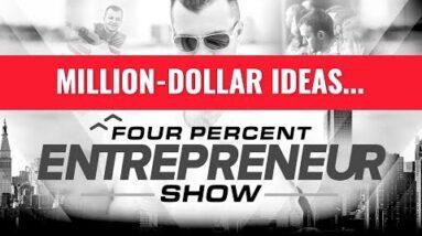 Million Dollar Ideas - Four Percent Entrepreneur Show with Vick Strizheus