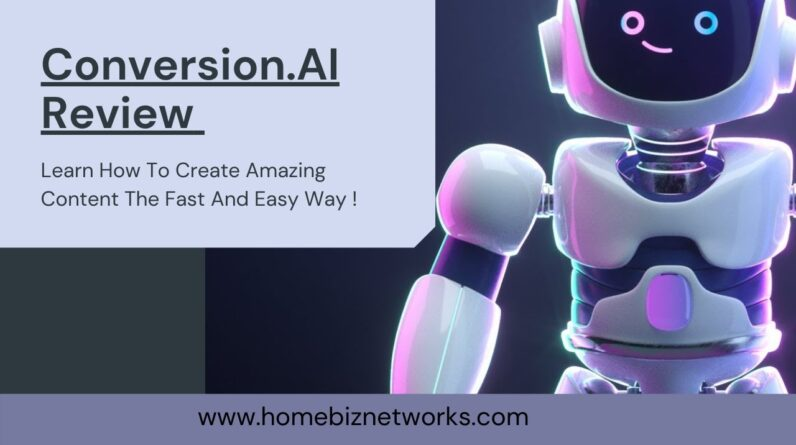 How To Use Conversion. AI  Review For Better Click Through Rates and Content That Converts