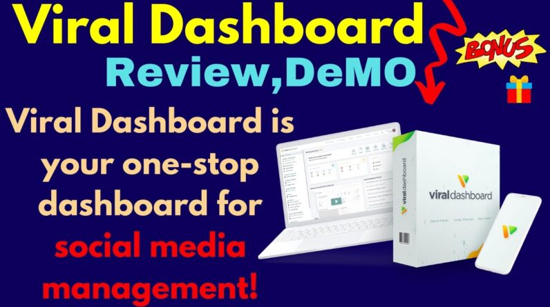 Viral Dashboard Review And Demo | Manage ALL Your Posts, Brands & Sources In One Place