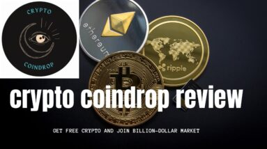 coindrop review how to earn free crypto currency  how to get free crypto