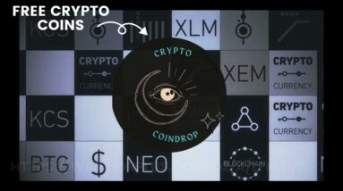 TOP WAYS TO EARN FREE CRYPTOCURRENCY   Crypto CoinDrop [ 2021 Hidden Method ]
