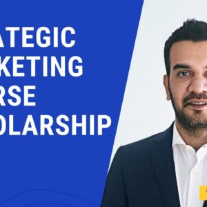Strategic Marketing Course - Scholarship Announcement