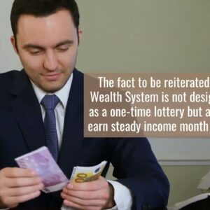 Click Wealth System is supposedly your once-in-a-lifetime chance to make $10,000 a month online.