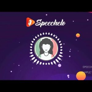 Text to speech with AI | Speecheho | Sample video
