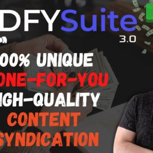 DFY Suite 3.0 Review 🎈 Get to the first page of Google Search with dfy suite 3.0 app 🎈