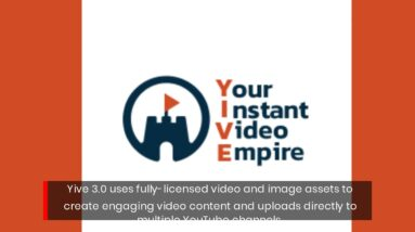 Yive 3.0 Automated Website To YouTube Multi-Language Video Creation Suite Updated
