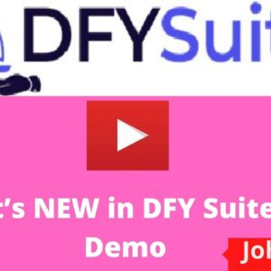 WHAT'S NEW IN DFY SUITE 3.0 DEMO VIDEO