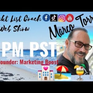 #WanderlustWednesday Meet Marco with Marketing Boost Vacation Incentives