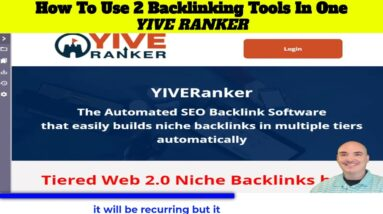 3 Yiveranker how to use 2 backlinking tools in one Yive Ranker integrations