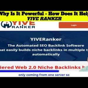 2 Why is Yive Ranker powerful and how does it help Rankings using yiveranker