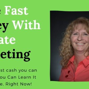 make fast money with affiliate marketing