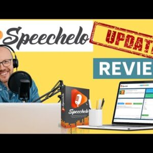 Speechelo Review 👉UPDATE!  Demo & Walkthrough