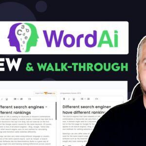 WordAI Review and Demo | The Best Article Rewriter?