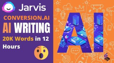 Conversion AI Review | AI Content Writing With Jarvis AI | Copywriting For Conversion Using AI