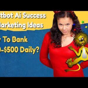 text bot ai success (textbot ai review) textbot ai marketing tips to make $100-$500 daily