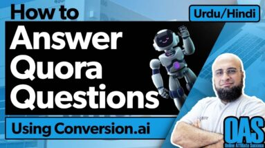 How To Answer Quora Questions Using Conversion.ai?