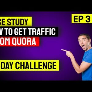 How to get traffic from Quora EP 3 | Conversion.ai Review
