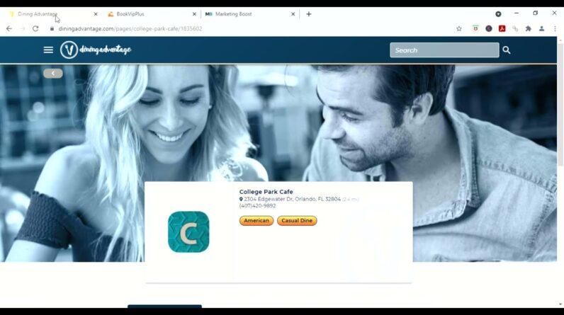 MarketingBoost Incentive Marketing Program Review+Demo of BookVIP Plus and Dining Guru
