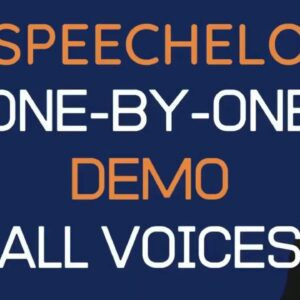 🗣️🎙️SPEECHELO Transform Any Text Into A 100% Human-Sounding 🔊 VoiceOver Male Female 23 languages ✔️