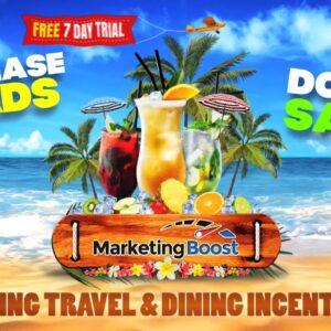 Marketing Boost Beach Promo