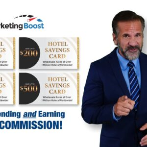 Marketing Boost Hotel Savings Cards