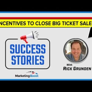 Marketing Boost Success Stories with Rick G