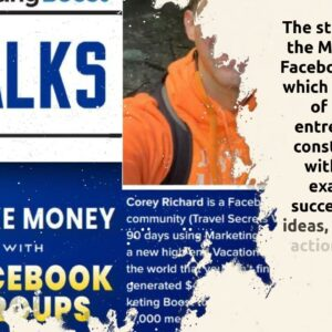 MarketingBoost Members Teach Each Other to Scale Their Facebook Groups.