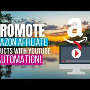 Hindi: How To Promote Amazon Affiliate Products Using YouTube Automation With YIVE (2021)