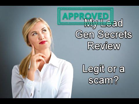 My Lead Gen Secret Review - Legit or a Scam?