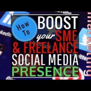 new: social media marketing boost!