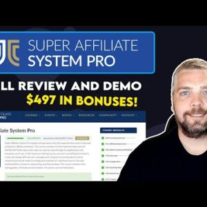 Super Affiliate System Review and Walk-Through