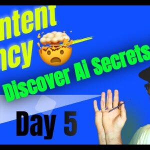 Jarvis.ai Intensified (Day 5): Create A Content Marketing Agency * Jarvis.ai 2021 *