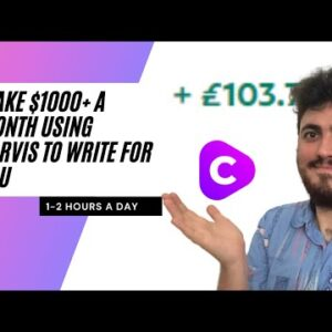 8 Writing Services You Can Sell TODAY To Make $1000 A Month - Using Jarvis/Conversion AI 🚀🚀
