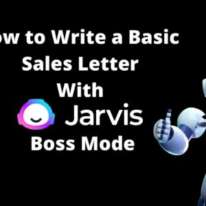 How to Write a Basic Sales Letter for a Local Business with Jarvis Boss Mode