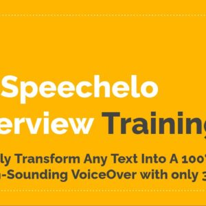 របៀបប្រើប្រាស់ Text To Speech Software - Speechelo Pro License by Promote Panel 2021