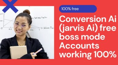 Conversion Ai (jarvis Ai) free boss mode Accounts working 100%
