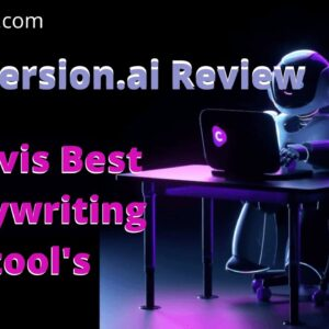 Conversion AI Review || Jarvis is the best copywriting tool's