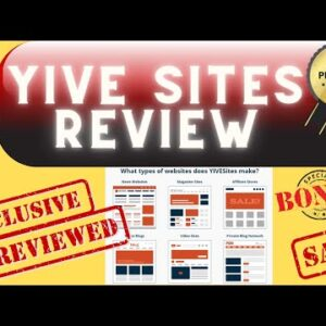 YIVE Sites Review ✅ Unlimited Automated Website Builder ✅ Lifetime Offer [YIVESites Review]