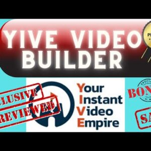YIVE Video Builder Review ✅ Video Automation ✅ Mass Video Generation [Best Vidnami Alternative]