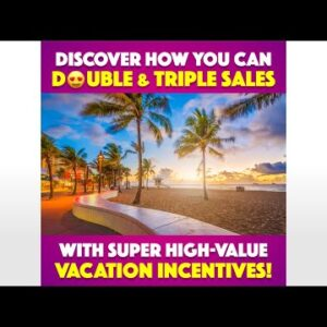 Explode Your Sales Using Travel Incentives