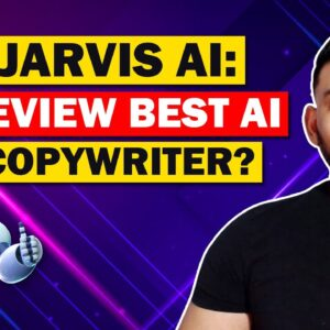 Jarvis AI Review: Best AI Copywriter? (Conversion AI Review)